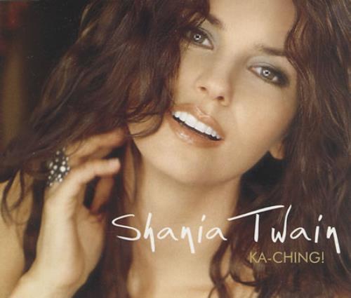 Shania Twain Ka Ching Uk Promo Cd Single Cd5 5 Quot 236639