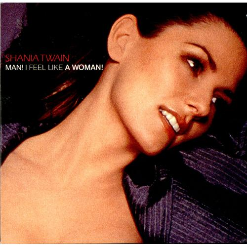 Shania Twain Man I Feel Like A Woman French Cd Single
