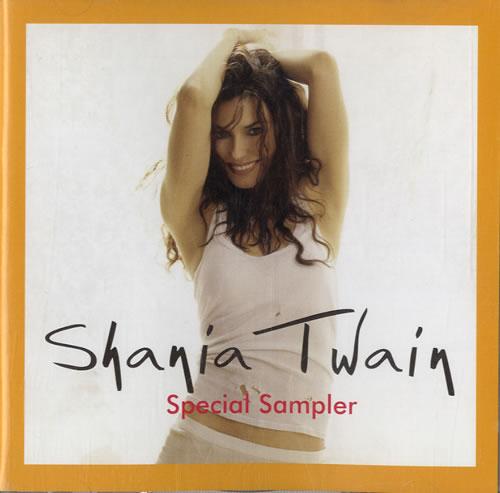 Shania Twain Special Sampler CD album (CDLP) Japanese SIACDSP269125