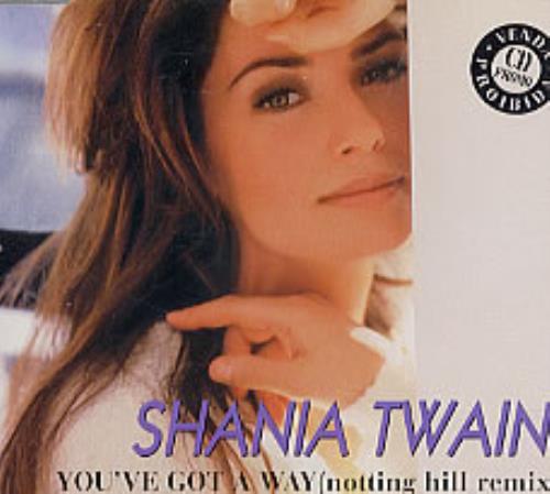 Shania Twain You Ve Got A Way Brazilian Promo Cd Single