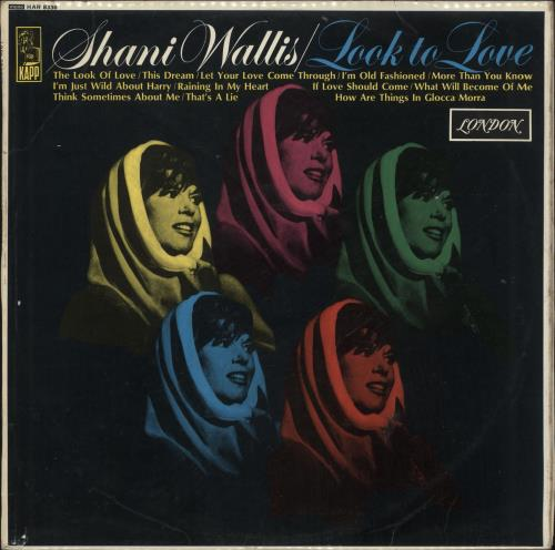 Shani Wallis Look To Love vinyl LP album (LP record) UK WLZLPLO510798
