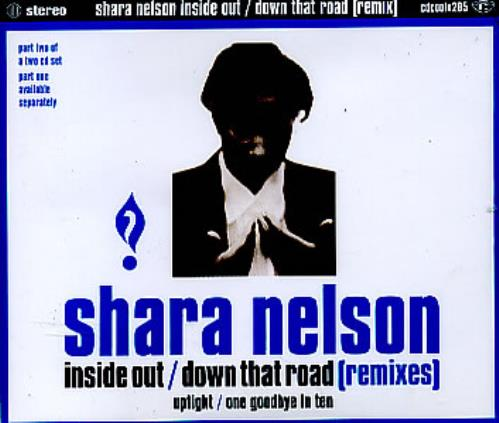 """Shara Nelson Inside Out - Remixes Part 2 CD single (CD5 / 5"""") UK SNLC5IN36667"""