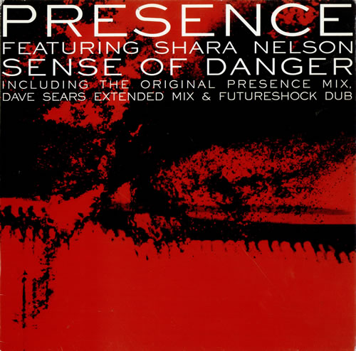 "Shara Nelson Sense Of Danger 12"" vinyl single (12 inch record / Maxi-single) UK SNL12SE477575"