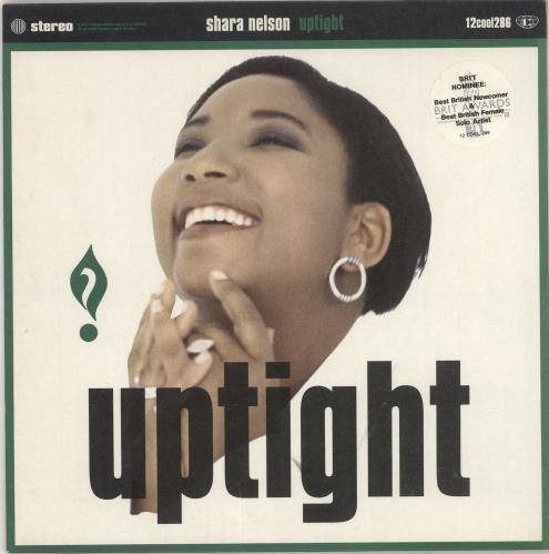 "Shara Nelson Uptight 12"" vinyl single (12 inch record / Maxi-single) UK SNL12UP196528"