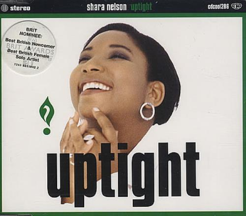 "Shara Nelson Uptight CD single (CD5 / 5"") UK SNLC5UP36668"