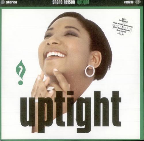 "Shara Nelson Uptight 7"" vinyl single (7 inch record) UK SNL07UP510973"
