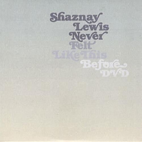 Shaznay Lewis Never Felt Like This Before DVD Single UK SLZDSNE305007