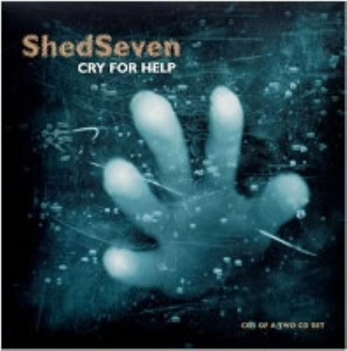 Shed Seven Cry For Help UK 2-CD single set (Double CD single