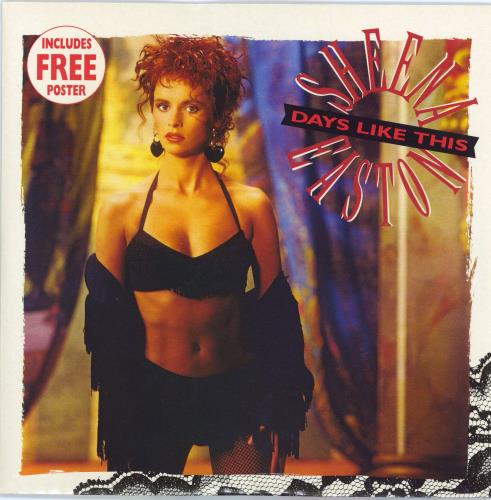 "Sheena Easton Days Like This - Poster Sleeve 7"" vinyl single (7 inch record) UK EAS07DA29546"