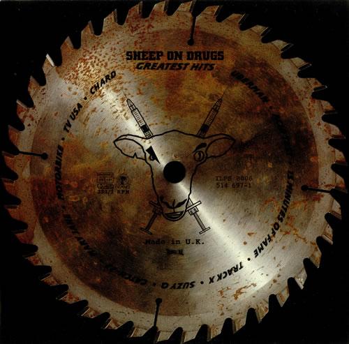 Sheep On Drugs Greatest Hits vinyl LP album (LP record) UK SHPLPGR444923