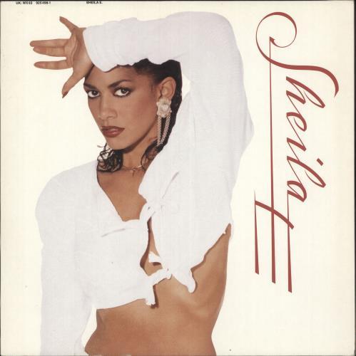 Sheila E Sheila E vinyl LP album (LP record) UK SHELPSH73570