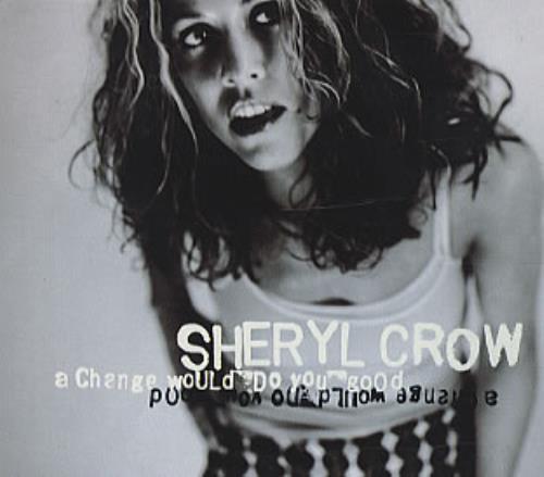 "Sheryl Crow A Change Would Do You Good + Postcards CD single (CD5 / 5"") UK SCWC5AC98230"