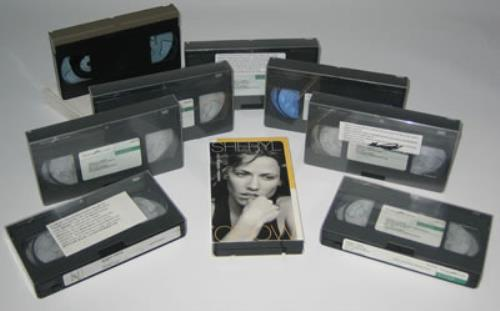 Sheryl Crow A Quantity Of Promotional Videos video (VHS or PAL or NTSC) UK SCWVIAQ371922