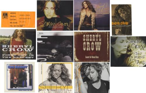 """Sheryl Crow Collection Of 13 Promotional CD Singles CD single (CD5 / 5"""") UK SCWC5CO417330"""