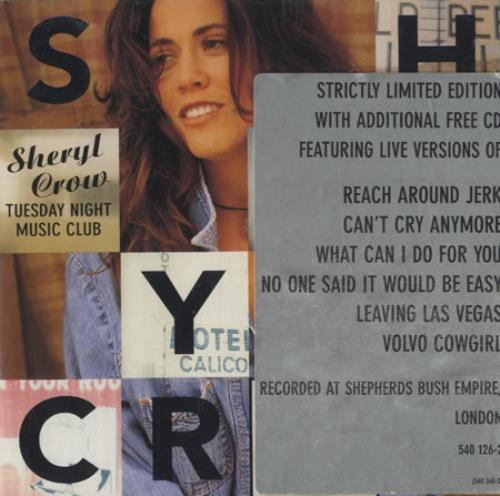 Sheryl Crow Collection Of 3 Limited Edition 2-CD Album Sets 2 CD album set (Double CD) UK SCW2CCO417350