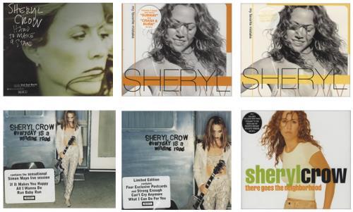 Sheryl Crow Collection Of 4 x 2-CD Single Sets 2-CD single set (Double CD single) UK SCW2SCO430667