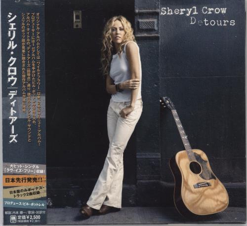 Sheryl Crow Detours CD album (CDLP) Japanese SCWCDDE424390