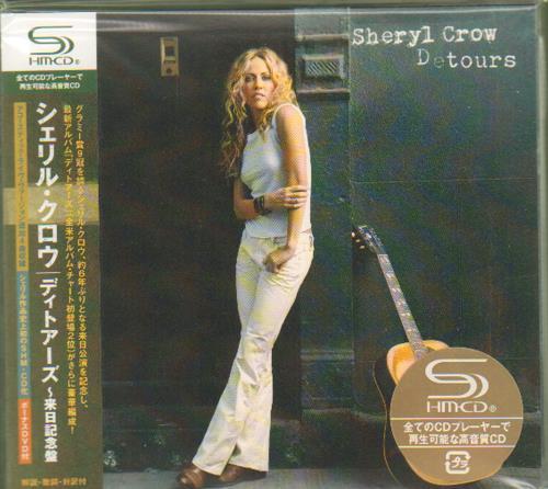 Sheryl Crow Detours SHM CD Japanese SCWHMDE676405