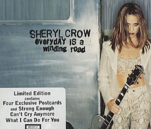 "Sheryl Crow Everyday Is A Winding Road + Postcards CD single (CD5 / 5"") UK SCWC5EV130926"