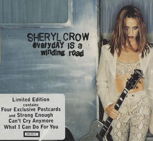 "Sheryl Crow Everyday Is A Winding Road CD single (CD5 / 5"") UK SCWC5EV375328"