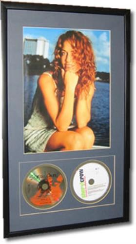 Sheryl Crow Framed Photograph/CD Singles memorabilia UK SCWMMFR386754