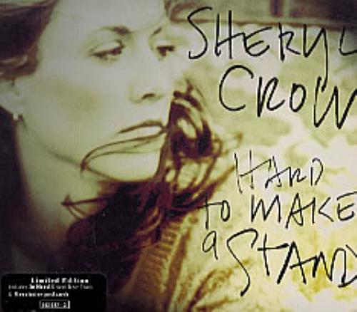 "Sheryl Crow Hard To Make A Stand + Postcards CD single (CD5 / 5"") UK SCWC5HA82683"