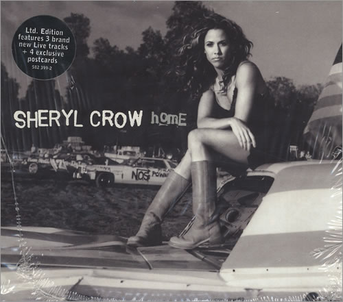"Sheryl Crow Home - 3-CD Single Set CD single (CD5 / 5"") UK SCWC5HO432571"