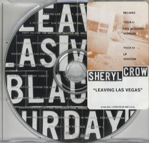 "Sheryl Crow Leaving Las Vegas CD single (CD5 / 5"") US SCWC5LE37549"
