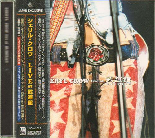 Sheryl Crow Live At Budokan CD album (CDLP) Japanese SCWCDLI282138