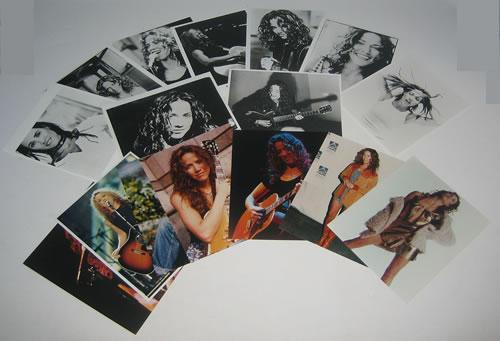 Sheryl Crow Set Of Photographs photograph UK SCWPHSE368664