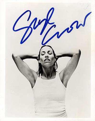 Sheryl Crow Signed Photograph - Hands On Head photograph UK SCWPHSI365159