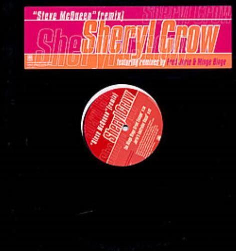 "Sheryl Crow Steve McQueen 12"" vinyl single (12 inch record / Maxi-single) US SCW12ST225110"