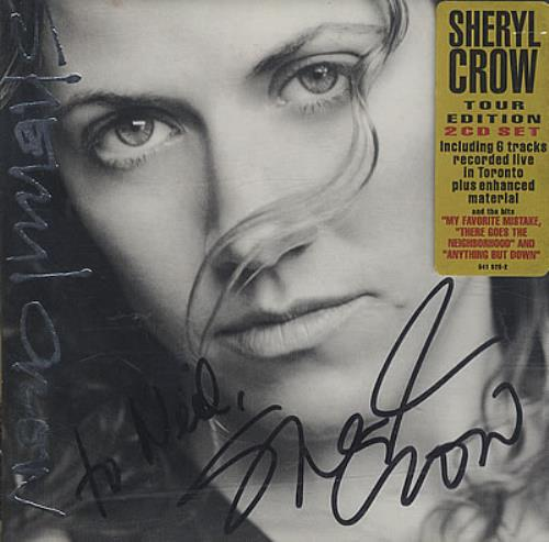 Sheryl Crow The Globe Sessions - Autographed 2 CD album set (Double CD) European SCW2CTH401096