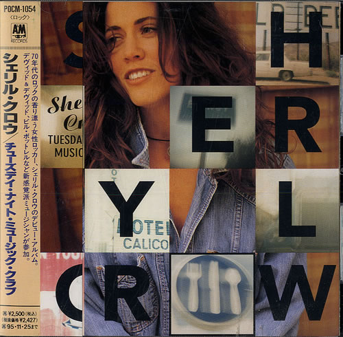 Sheryl Crow Tuesday Night Music Club + Obi CD album (CDLP) Japanese SCWCDTU554381