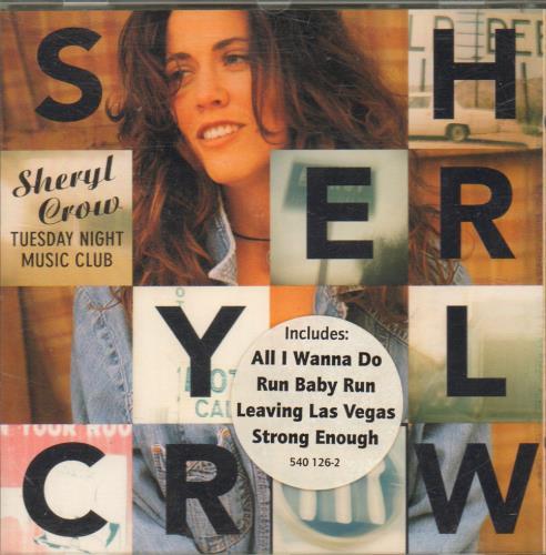 Sheryl Crow Tuesday Night Music Club CD album (CDLP) UK SCWCDTU276903