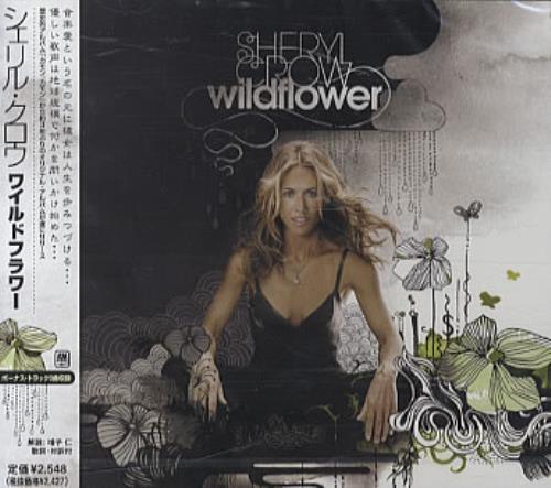 Sheryl Crow Wildflower CD album (CDLP) Japanese SCWCDWI330865