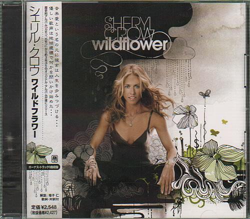 Sheryl Crow Wildflower CD album (CDLP) Japanese SCWCDWI637360