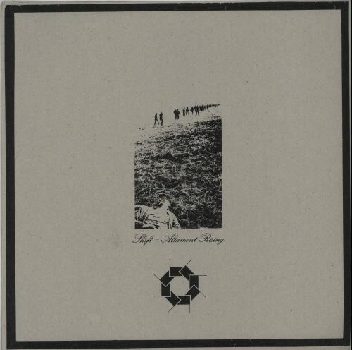 Shift Altamont Rising + Numbered Insert & Postcard vinyl LP album (LP record) UK XY7LPAL652677