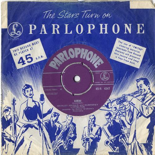 "Shirley Abicair Bimini 7"" vinyl single (7 inch record) UK W1I07BI614779"