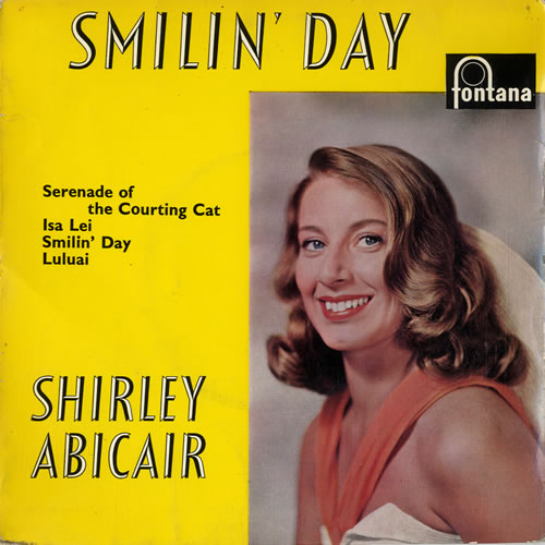 """Shirley Abicair Smiling Day EP 7"""" vinyl single (7 inch record) UK W1I07SM614768"""