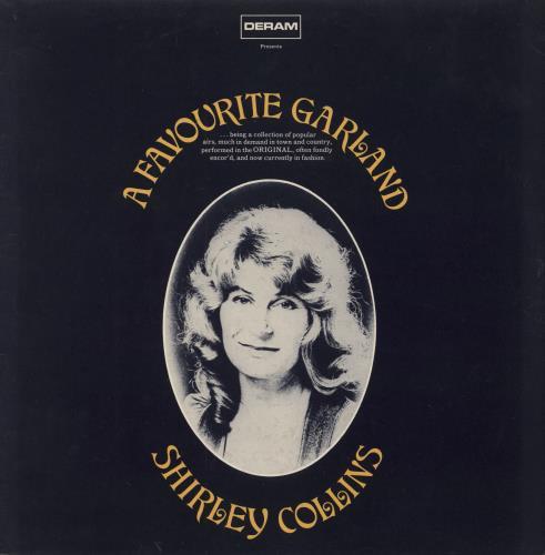 Shirley Collins A Favourite Garland - EX vinyl LP album (LP record) UK SYILPAF602478