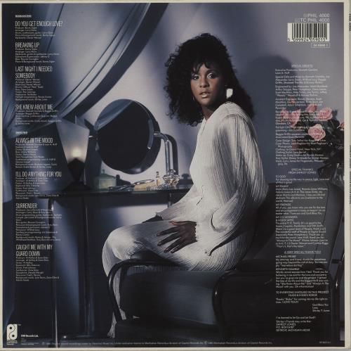 Shirley Jones (80s) Always In The Mood vinyl LP album (LP record) UK W-YLPAL759751