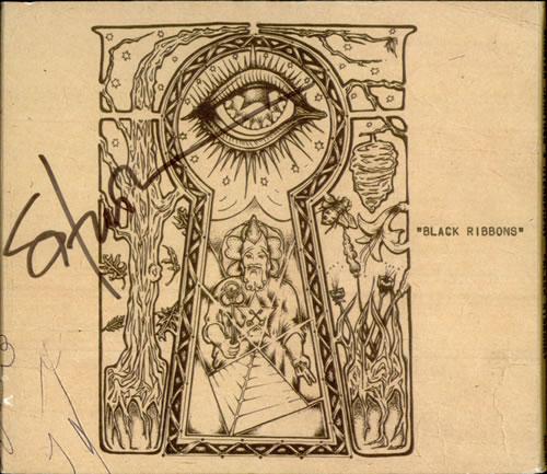 Shooter Jennings Black Ribbons - Autographed CD album (CDLP) US SGXCDBL516686