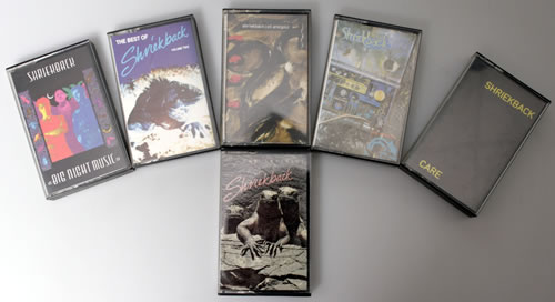 Shriekback Collection of 6 Albums cassette album UK SRKCLCO549756
