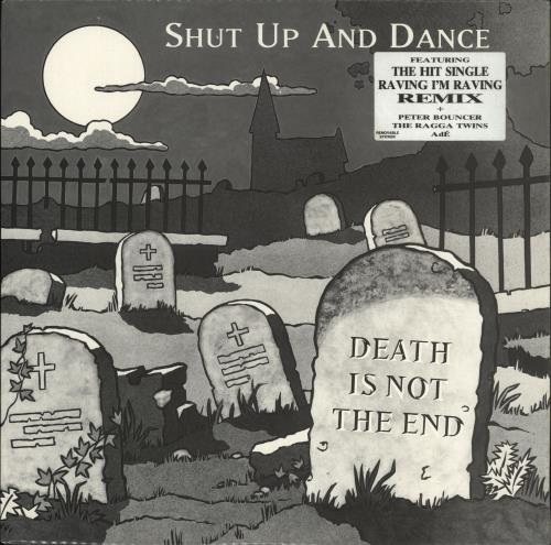 Shut Up & Dance Death Is Not The End 2-LP vinyl record set (Double Album) UK SHT2LDE724245