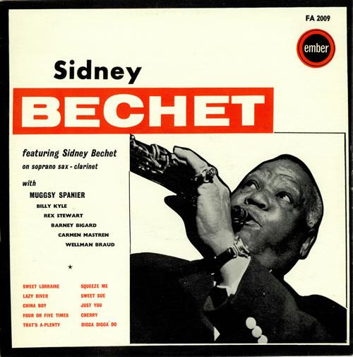 Sidney Bechet A Tribute To Sidney Bechet vinyl LP album (LP record) UK SJBLPAT470974