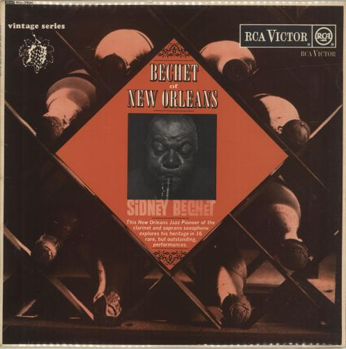 Sidney Bechet Bechet Of New Orleans vinyl LP album (LP record) UK SJBLPBE448181