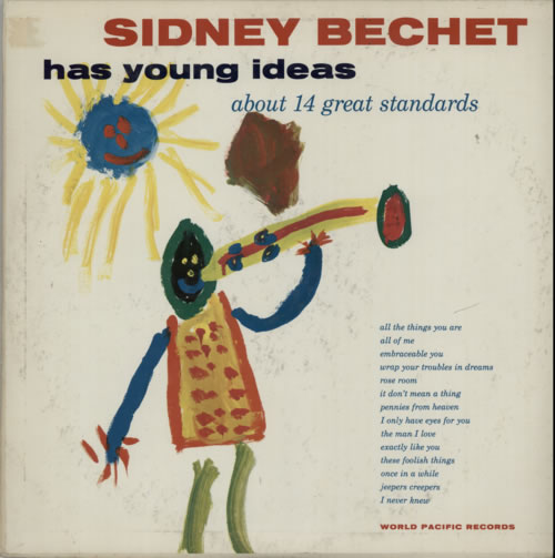 Sidney Bechet Has Young Ideas vinyl LP album (LP record) US SJBLPHA585372