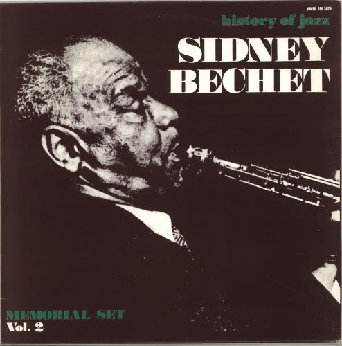 Sidney Bechet History Of Jazz Memorial Set Vol.2 vinyl LP album (LP record) Italian SJBLPHI690069