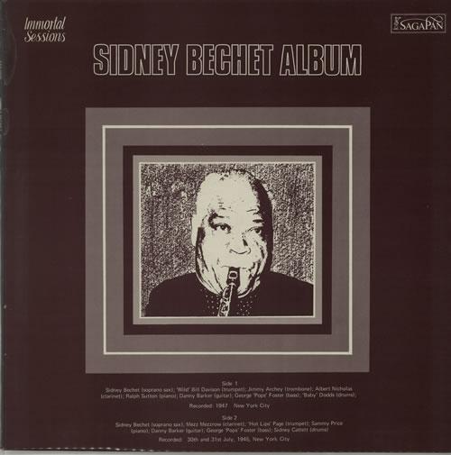 Sidney Bechet Sidney Bechet Album vinyl LP album (LP record) UK SJBLPSI642797